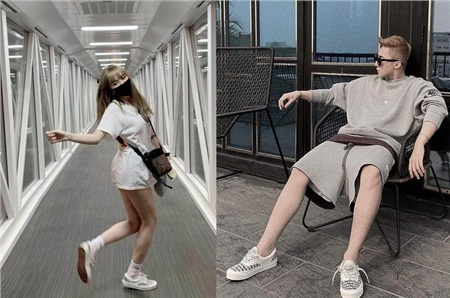 ... rồi giày đôi