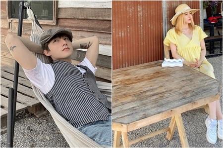 Hay mới đây, vào dịp Valentine, cặp đôi đều đi du lịch ở một miền quê thanh vắng. Fan đã soi ra loạt điểm giống nhau trong những bức ảnh cả hai đăng tải và đặt nghi vấn họ đón ngày Lễ tình nhân bên nhau.