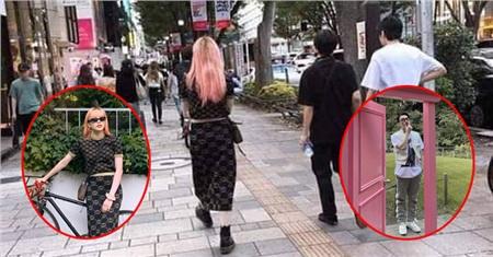Trước đó, một du học sinh Nhật Bản đã bắt gặp cặp đôi đi dạo tại phố Shibuya.