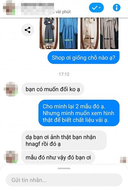 Phản hồi của chủ shop, đọc xong mà sốc.