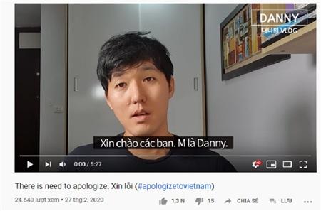 Các YouTuber người Hàn đồng loạt đăng video kèm hashtag #apologizetoVietNam sau sự việc rùm beng tại Đà Nẵng 1