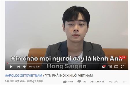 Các YouTuber người Hàn đồng loạt đăng video kèm hashtag #apologizetoVietNam sau sự việc rùm beng tại Đà Nẵng 2