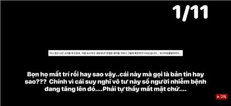 Một số bình luận của người Hàn