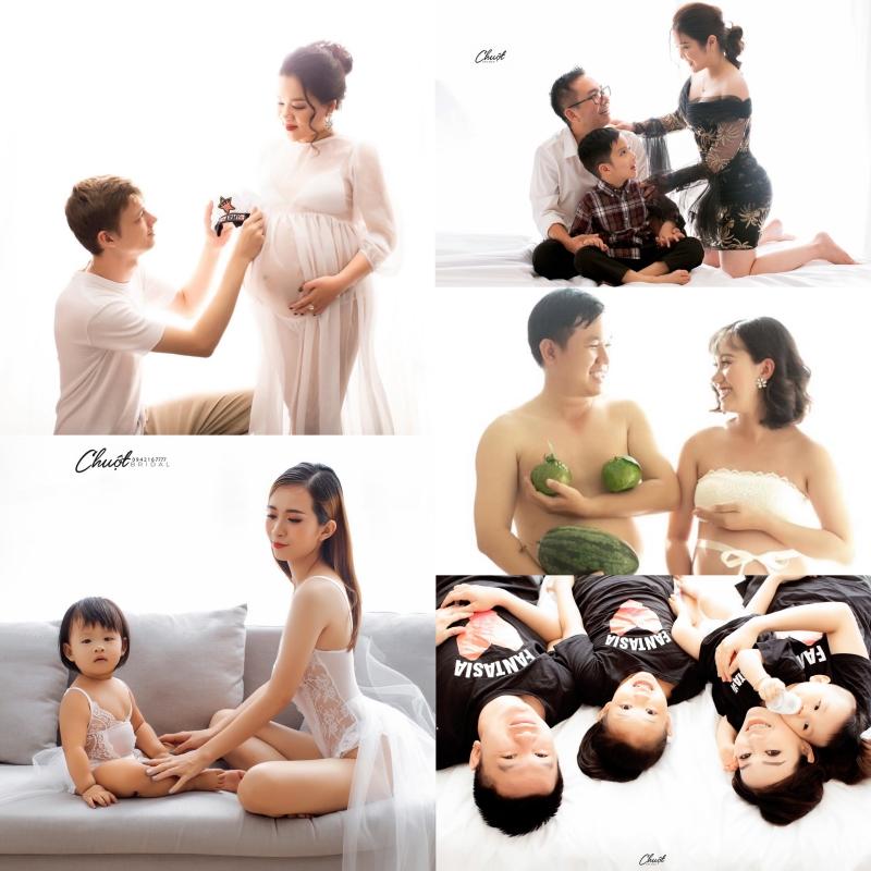 Sự đa dạng trong ý tưởng nhiếp ảnh gia đình
