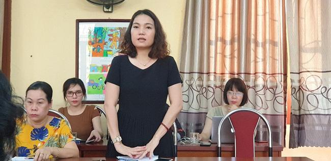 Hiệu trưởng Trường Tiểu học Quang Trung.