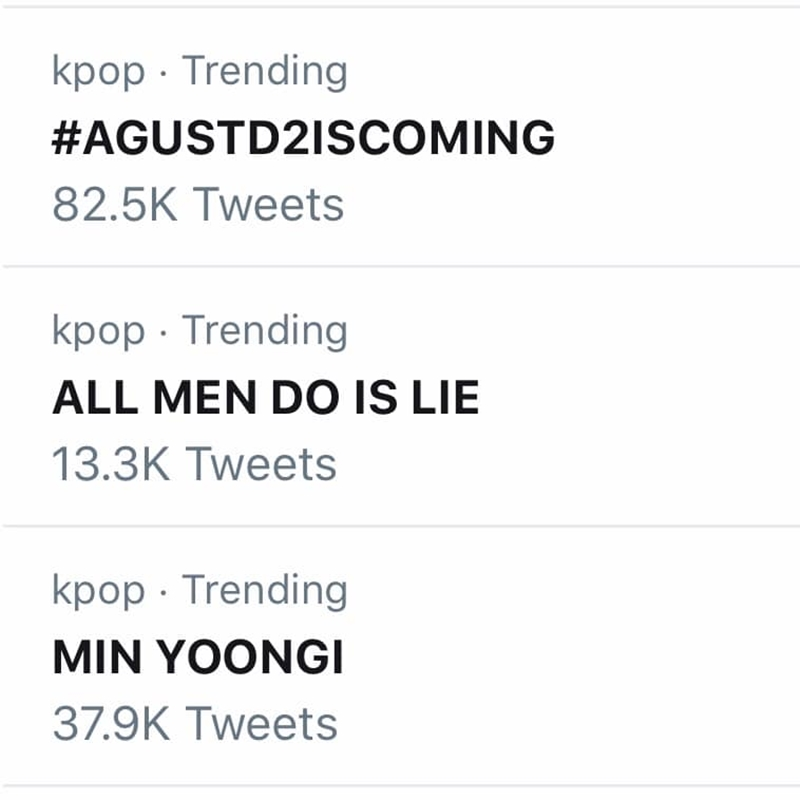 ARMY còn hài hước trend hashtag #ALL MENDO IS LIE để 'trách yêu' anh chàng khi sẵn sàng 'nói dối', quyết không để lộ hint comeback.