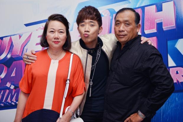 Gia đình của Trấn Thành