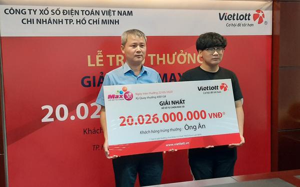 Nam sinh viên ở Sài Gòn công khai danh tính khi trúng xổ số độc đắc 20 tỷ 0