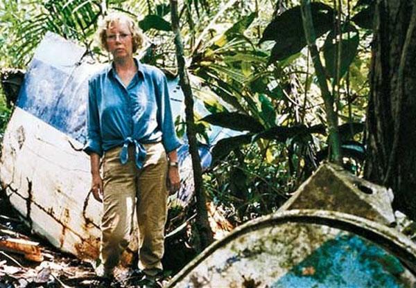 Câu chuyện về Juliane Köpcke đã được dựng thành phim tài liệu và hồi ký. Ảnh: Eva.vn