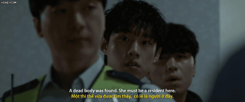 Trailer chính thức bắt đầu với vụ án tự sát xảy ra ngày 28