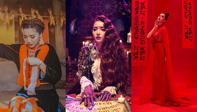 Mỗi MV một màu sắc riêng biệt.