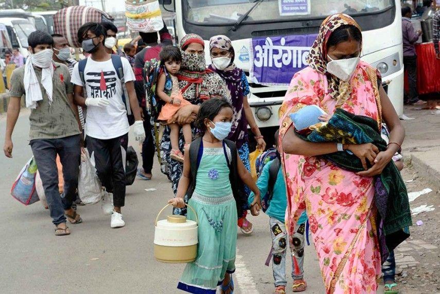 Ấn Độ, quốc gia đông dân thứ 2 thế giới, tiếp tục đà tăng số ca nhiễm Covid-19. (Ảnh minh họa. Nguồn: PTI)