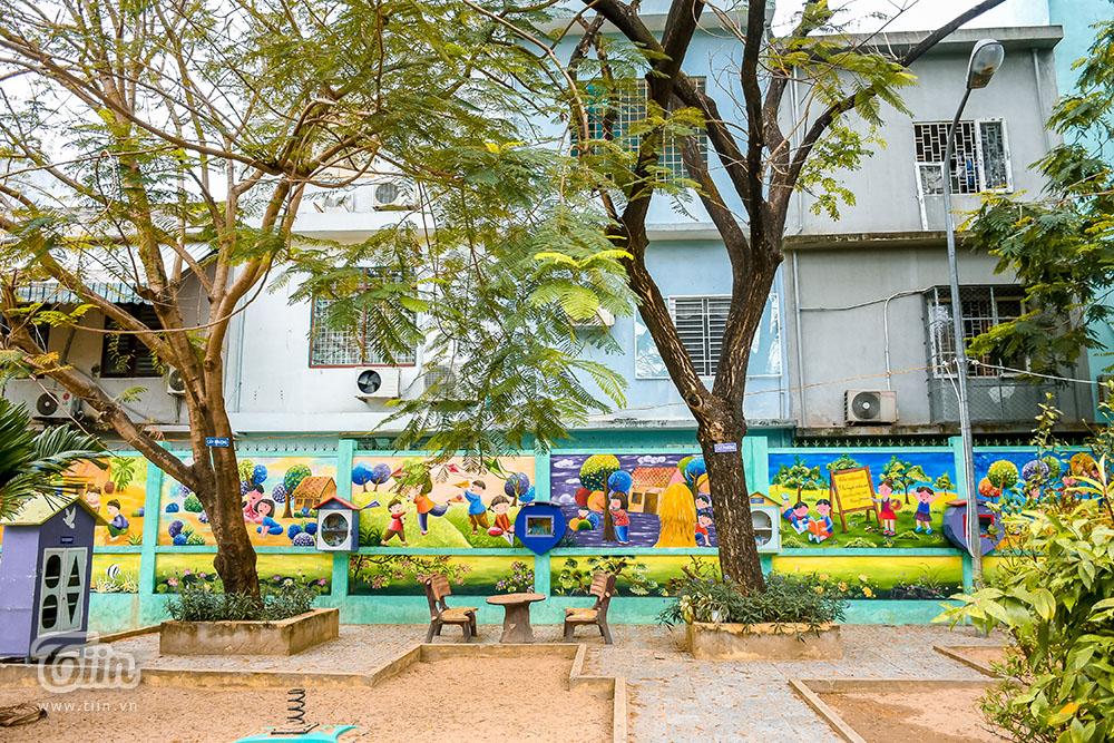 Chùm ảnh: Cây xanh trong trường học và nỗi ám ảnh gãy, đổ vào mùa mưa 14
