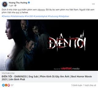 Xem Điên Tối ủng hộ điện ảnh Việt Nam.