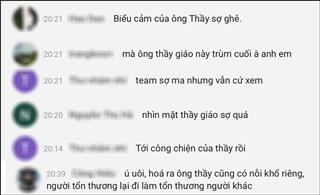 Người thầy giáo do Phan Anh thủ vai khiến nhiều người sợ hãi