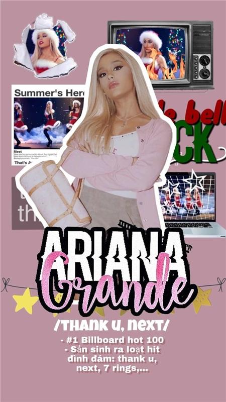 Ariana Grande đã có một năm huy hoàng như thế nào? 0