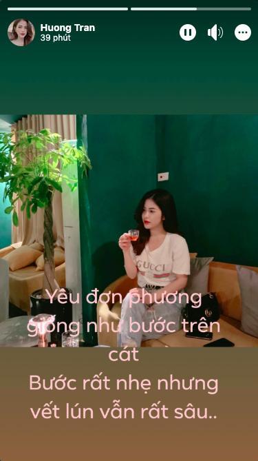 Vợ cũ Việt Anh gây hoang mang khi ẩn ý chuyện yêu đơn phương.