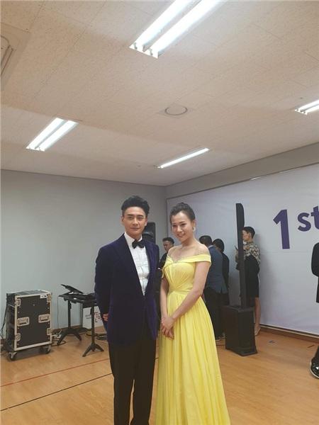 Phương Oanh vui mừng khi được gặp Huỳnh Tông Trạch ở LHP Busan 6