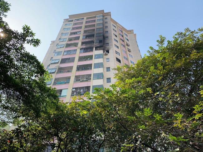 Đám cháy xuất phát từ căn hộ 10.06.