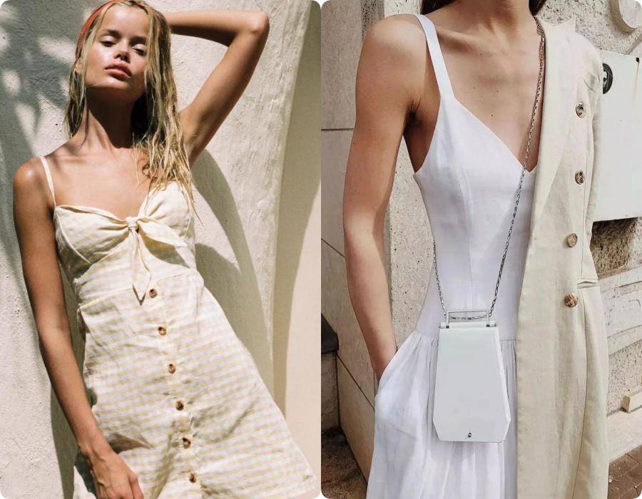 Ngoài váy lụa, phụ nữ Pháp còn mê mẩn váy áo thô đũi mộc mạc, dung dị mà phóng khoáng 4