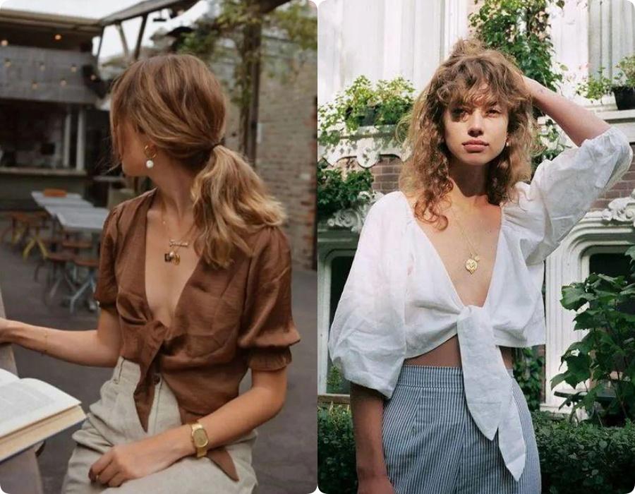 Ngoài váy lụa, phụ nữ Pháp còn mê mẩn váy áo thô đũi mộc mạc, dung dị mà phóng khoáng 11