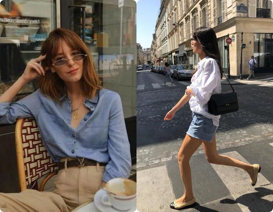 Với những cô nàng yêu thích phong cách tối giản, tự nhiên đậm chất Parisian Chic thì đây là lựa chọn chuẩn không cần chỉnh.