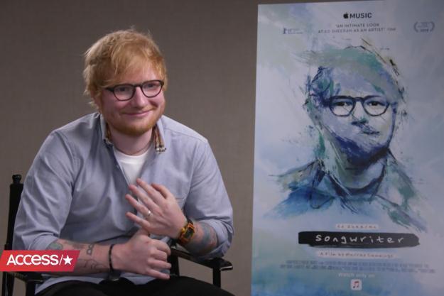 Cử chỉ của Ed trong buổi phỏng vấn