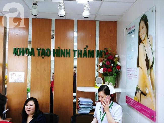 Khoa Tạo hình thẩm mỹ, BV Quận 2 nơi bệnh nhân đang điều trị.