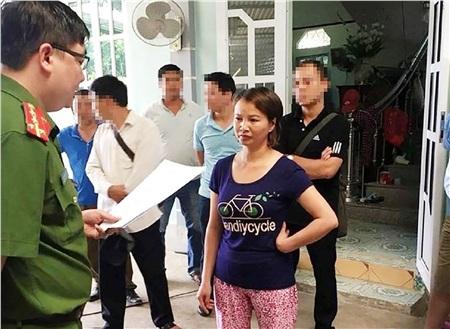 Trần Thị Hiền bị bắt