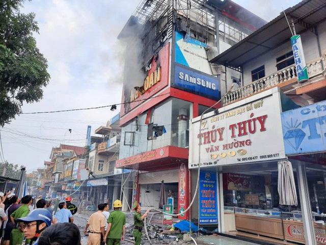 Lực lượng chức năng đã dập tắt đám cháy