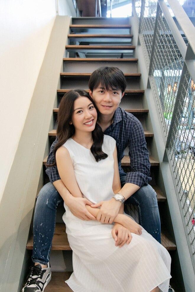 Thuý Vân đi đăng kí kết hôn: 'Từ giờ, tôi chính thức là người đã có gia đình' 3