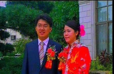 Hình ảnh về đám cưới Dương Huệ Nghiên khiến dư luận xôn xao.