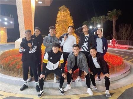 Những cầu thủ khác hào hứng đón Giáng sinh tại Hàn Quốc