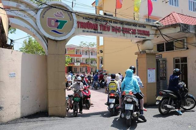 Trường Tiểu học Quang Trung nơi xảy ra sự việc ồn ào vừa qua