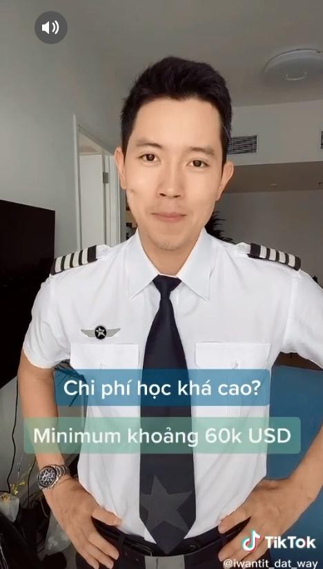 Cơ trưởng trẻ nhất Việt Nam - Quang Đạt tiết lộ những bí mật ít người biết về chi phí học tập và thu nhập siêu 'khủng' của nghề phi công 4