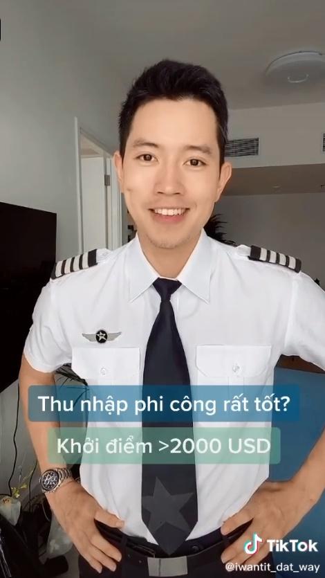 Cơ trưởng trẻ nhất Việt Nam - Quang Đạt tiết lộ những bí mật ít người biết về chi phí học tập và thu nhập siêu 'khủng' của nghề phi công 7
