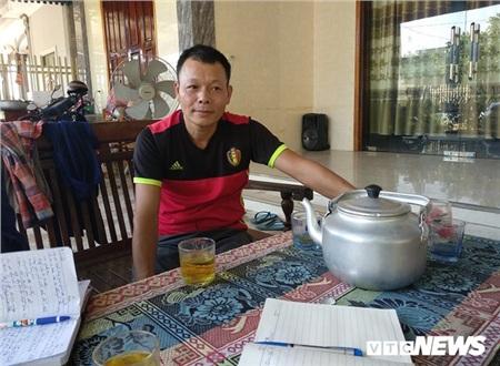 Anh Trần Đức Trung (Ảnh: VTC News)