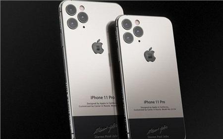 Bản iPhone 11 chỉ dành cho ai 'sinh ra ở vạch đích': Full giáp titan, đính vải áo len của Steve Jobs, giá 225 triệu đồng 0