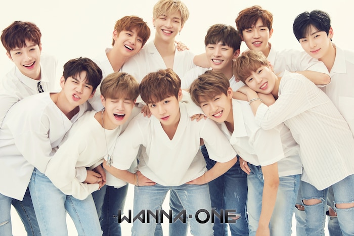 Nhóm Wanna One.