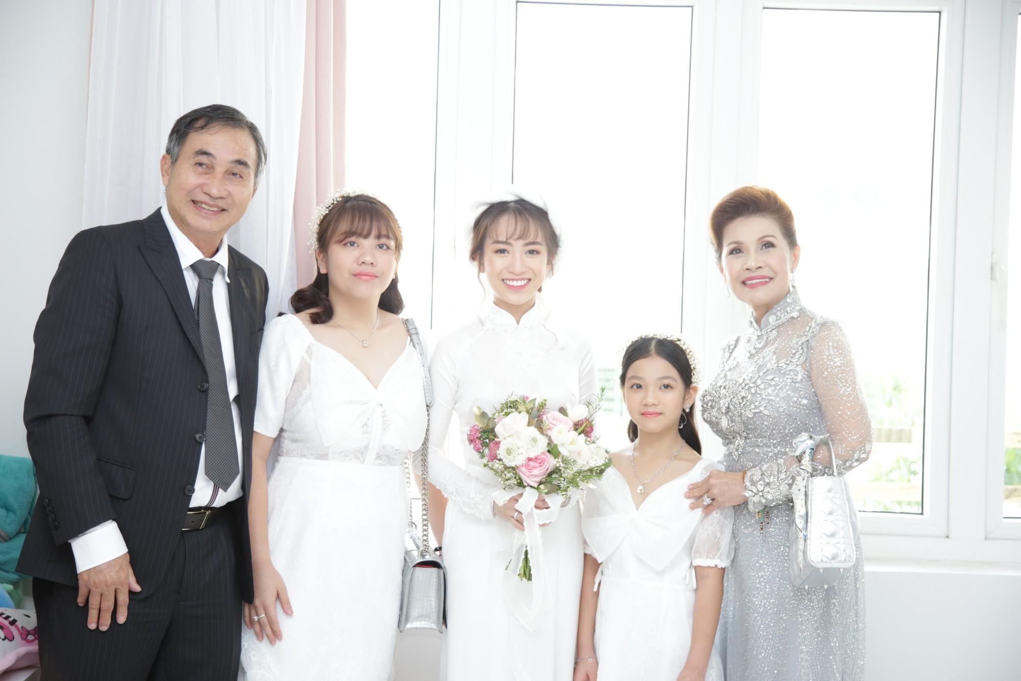 Mẹ chồng Minh Anh rất phúc hậu.