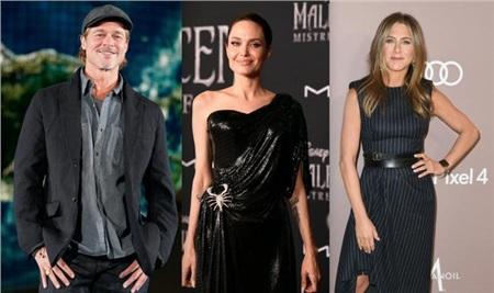 Câu chuyện về Brad Pitt - Angelina Jolie và Jennifer Aniston luôn tốn giấy mực của giới truyền thông.
