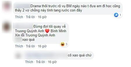 Dân mạng đồn đoán Tim muốn nhắc đến Trương Quỳnh Anh và Bình Minh?