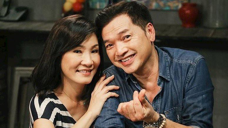 Vợ chồng nghệ sĩ Quang Minh - Hồng Đào thuở còn mặn nồng