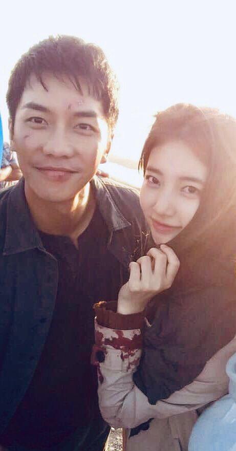 'Chết ngất' với hình ảnh 'tình bể bình' của Lee Seung Gi và Suzy trên phim trường 'Vagabond' 4