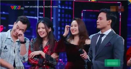 Cười ngất khi xem Hồng Diễm - Anh Tuấn đóng lại cảnh 'Dượng gặp Quỳnh' trong 'Quỳnh búp bê' 9