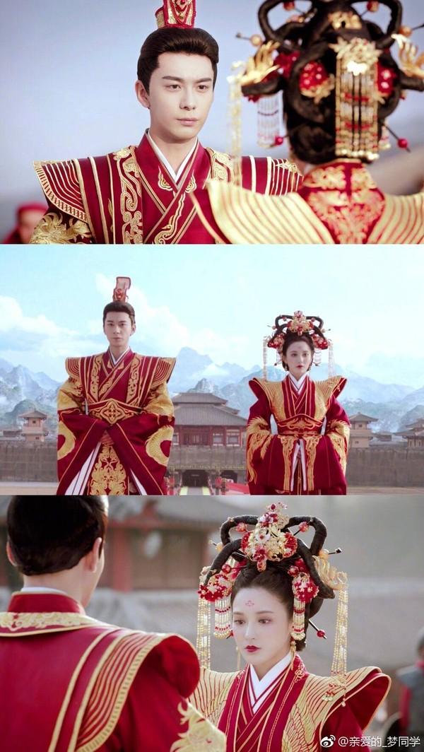 Cảnh đại hôn hoành tráng hoa lệ trong 'Đông cung' gợi nhớ đại lệ phong hậu của 'Võ Tắc Thiên' Phạm Băng Băng 9