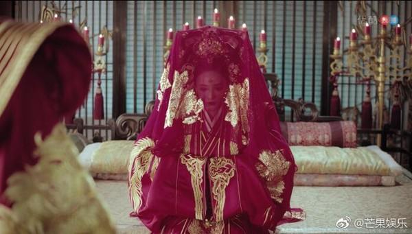 Cảnh đại hôn hoành tráng hoa lệ trong 'Đông cung' gợi nhớ đại lệ phong hậu của 'Võ Tắc Thiên' Phạm Băng Băng 13