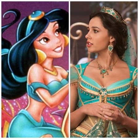 Tại sao công chúa Jasmine trong 'Aladdin' 2019 không... ăn mặc hở hang như bản hoạt hình? 1