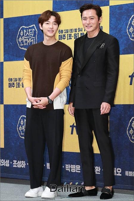 Song Joong Ki tiết lộ những thay đổi sau khi kết hôn với Song Hye Kyo tại họp báo 'Arthdal Chronicles' 3