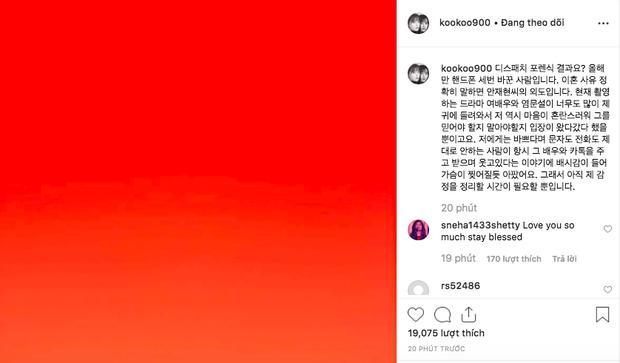 Goo Hye Sun tiết lộ có sự xuất hiện của 'tiểu tam' khiến cuộc sống hôn nhân của cô tan vỡ.